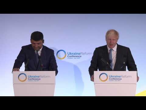 Ukraine Reform Conference - Press Conference