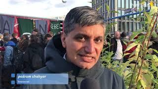Extinction Rebellion blockiert in Berlin - Pedram Shahyar (attac)
