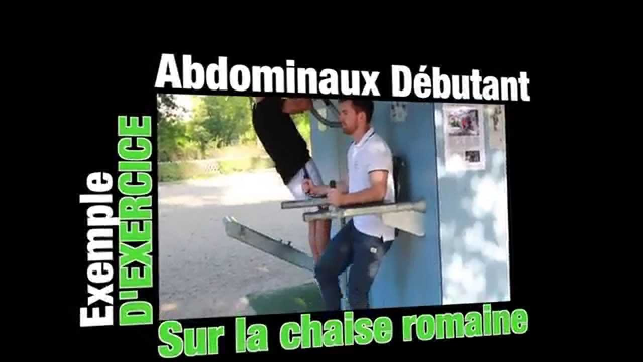 Exercice de la semaine abdo chaise romaine youtube for Chaise romaine