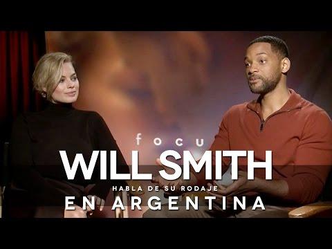 Tango, tenis y celebración, el entretenido rodaje de Will Smith en Argentina