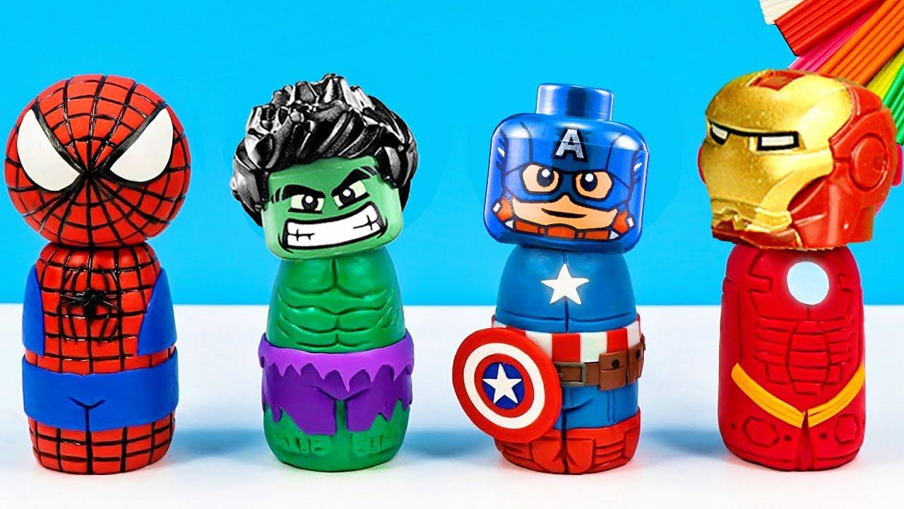 Download Spider-Man Vs Hulk Avengers Superhero Best Scene Lego Stopmotion