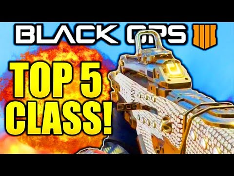 TOP 5 BEST CLASS SETUPS IN BLACK OPS 4 AFTER PATCH! BO4 BEST CLASS SETUPS AFTER PATCH 1.07 BO4!