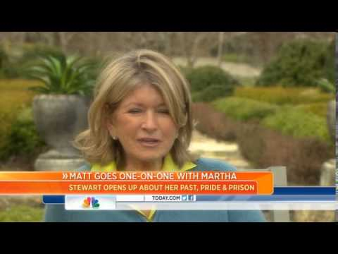 Martha Stewart on prison: 'It's terrible'