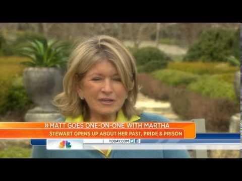 Martha Stewart On Prison: 'It's Terrible'
