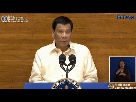 رئيس الفلبين يتعهد باستمرار حربه على المخدرات  - نشر قبل 33 دقيقة