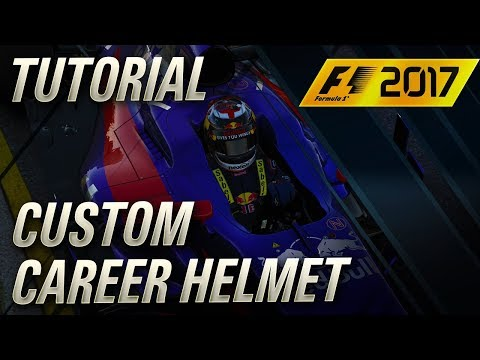 F1 2017 Custom Career Helmet Tutorial