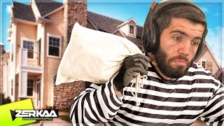 LEARNING How To BREAK INTO a HOUSE! (Thief Simulator)