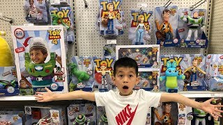 TOY STORY 4 MOVIE || TOY STORY 4 TOYS TOY HUNT at TARGET