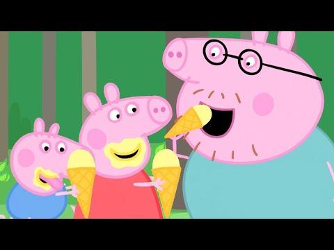 Peppa Houdt Van Ijs 🍨 Tekenfilm   Peppa Pig Nederlands Compilatie Nieuwe