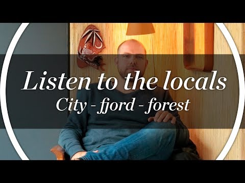 Oslo enthusiast Einar explains the city-fjord-forest-connection