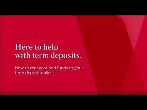 How to manage your Term Deposits online | Westpac