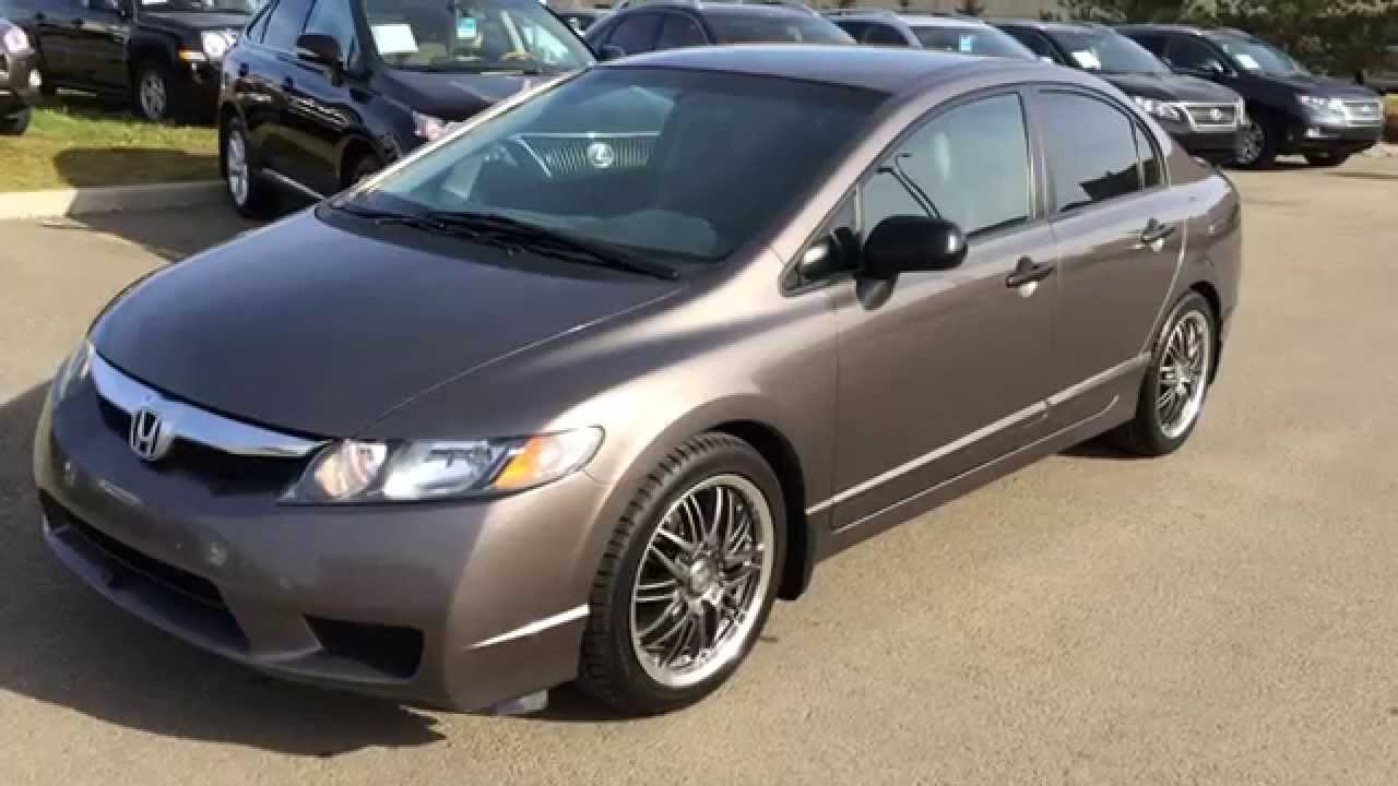 Nice Pre Owned 2010 Honda Civic Sdn 4dr Man DX G Review   Wetaskiwin, Alberta,  Canada   YouTube