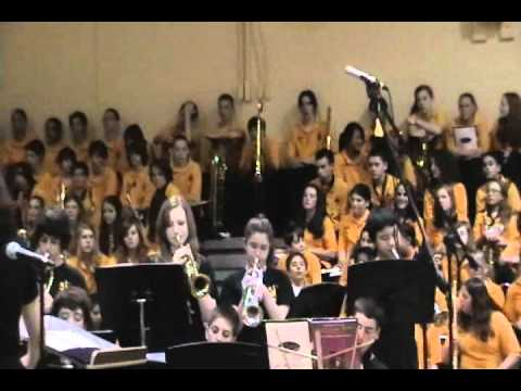Peter Gunn Theme presented by Thompson Middle School's Jazz Band