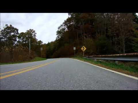 Wolf Pen Gap drive on 2017-11-01