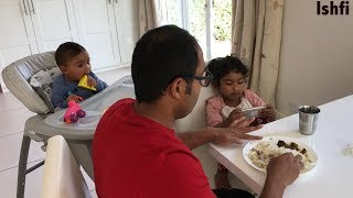 Happy Little Girl Ishfi's Daily Lifestyle with Beautiful Family