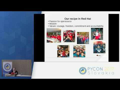 Image from Red Hat - how to build diverse and entertaining opensource corporate culture