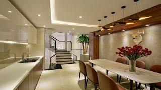 Bán nhà Gò Vấp( 67 ) Siêu phẩm nhà đẹp 2019 tại Gò Vấp   4 lầu thiết kế nội thất đẹp   4.2m x 16m