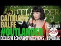 Caitriona Balfe interviewed at #Outlander on #Starz #OutlanderFYC Event in Hollywood