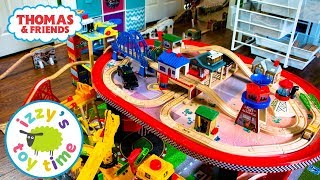 Thomas and Friends BIGGEST TRACK EVER! Fun Toy Trains ! Thomas Train with Brio for Children