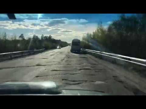 Трасса «Чебоксары-Казань» через марийские леса I там нет дорог