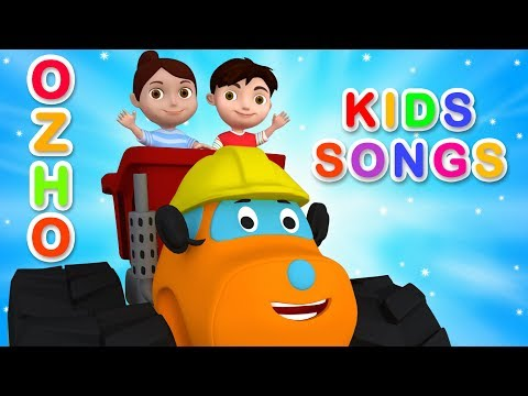 monster truck ozho fun educational songs rhymes kids car cartoon