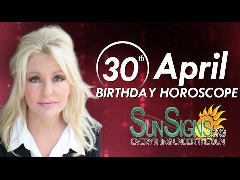 Birthday April 30th Horoscope Personality Zodiac Sign Taurus Astrology
