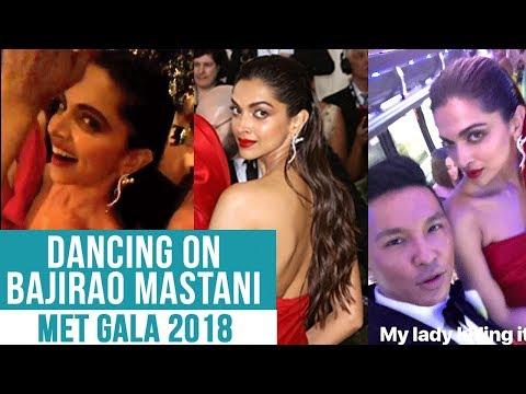Deepika Padukone SINGS AND DANCES At MET Gala 2018 With Prabal Gurung