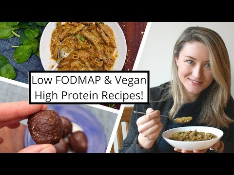 Two Quick High-Protein Recipes to Make In Advance // Low FODMAP & Vegan