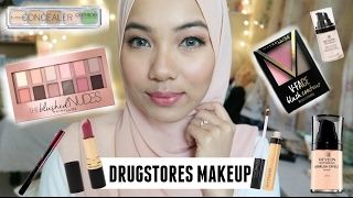 Full Face ONLY Malaysian Drugstore Makeup Tutorial