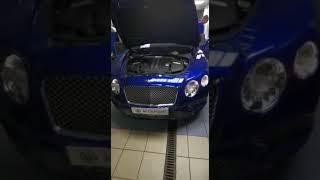 Компьютерная диагностика двигателя Bentley Continental GT