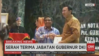 Breaking News: Sertijab Basuki Tjahaja Purnama, Ahok, Kembali Sebagai Gubernur DKI Jakarta