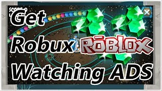 How to earn ROBUX watching ADS on Smartphone | ROBLOX