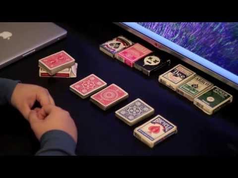 Выбор карт, Bicycle Vs Tally-Ho?