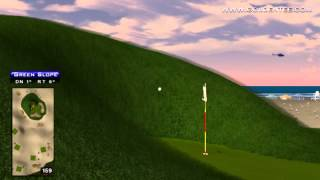 Golden Tee Great Shot On Cape Haven!