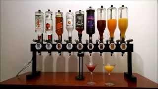 Alkobot - a drink mixing robot