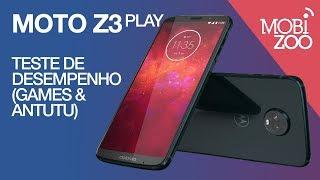 Moto Z3 Play: Teste de Desempenho (games e Antutu)