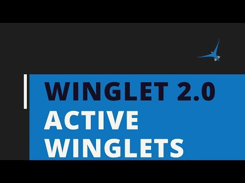 Active Winglets Are Winglet 2.0