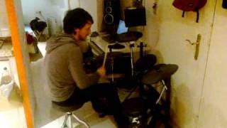 Me Drumming al home - MPS-400 Thomann  - Abbey Road 70s Full Open Kit