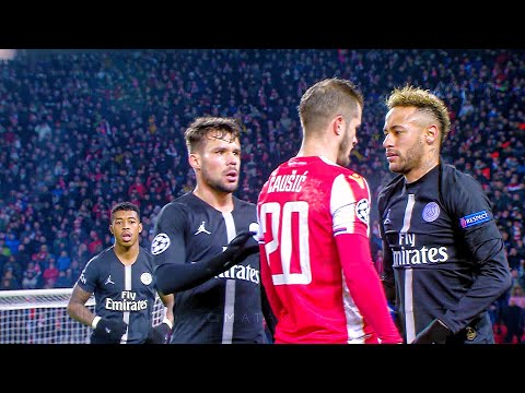Neymar vs Red Star Belgrade Away HD 1080i By Matan JR