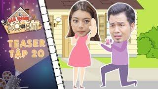 """Gia đình sô - bít   Teaser tập 20: Bạch Dương khốn đốn khi bị kẻ thất tình """"theo đuổi"""" đến tận nhà"""