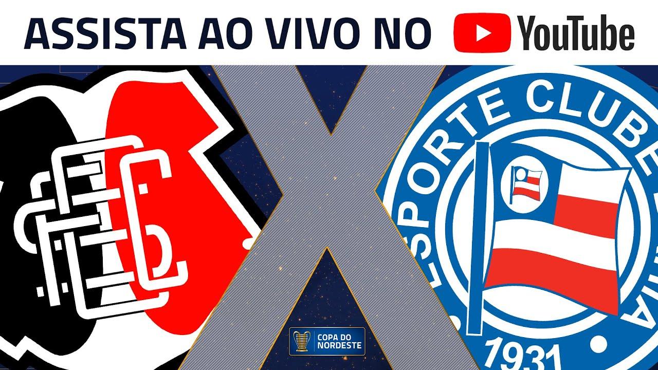 Assista Ao Vivo No Youtube A Santa Cruz X Bahia Neste Sabado