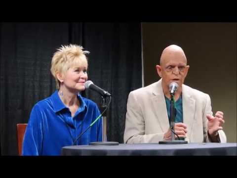 The Hills Have Eyes Panel 1977  TFW2017. Michael Berryman & Dee Wallace