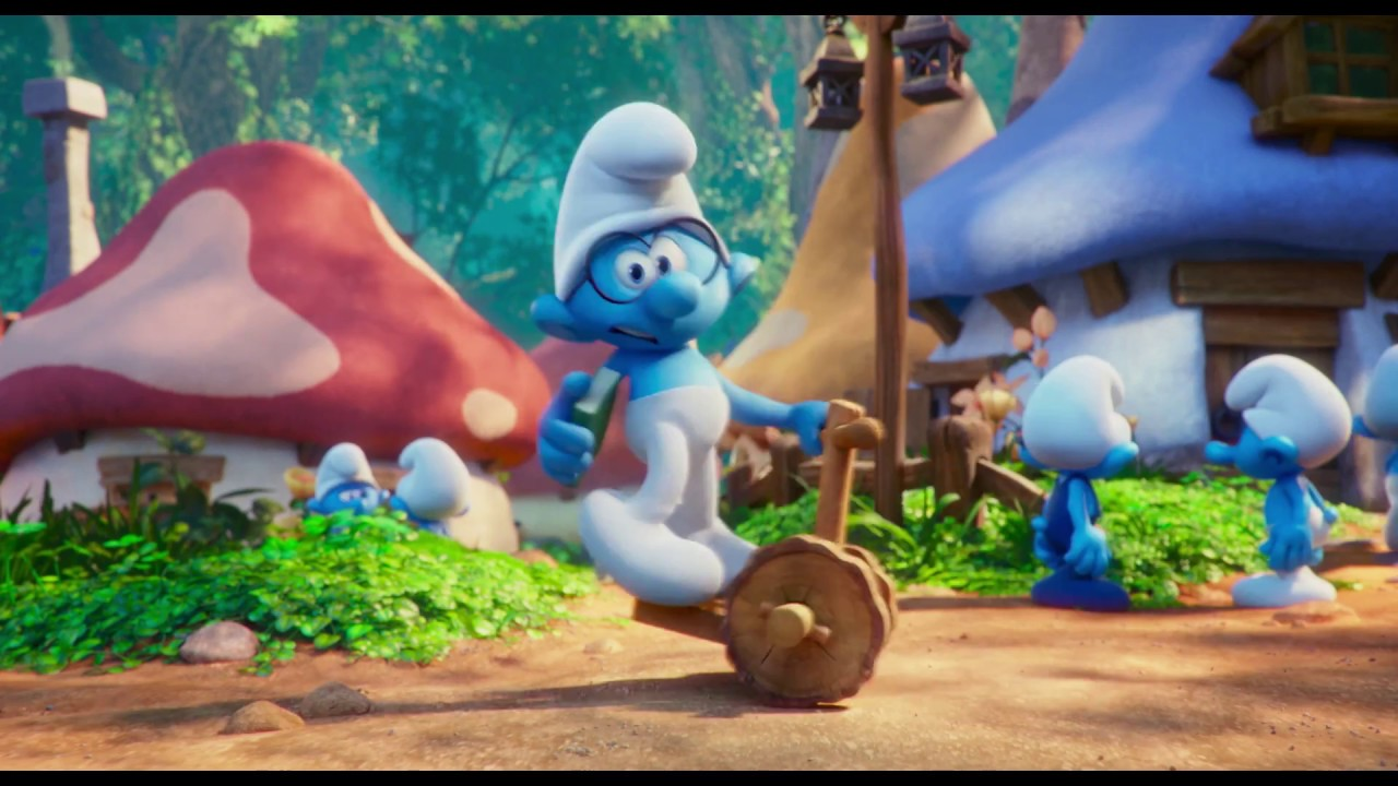 The Smurfs 2 3d Live Wallpaper Tr 225 Iler 2 Los Pitufos En La Aldea Perdida Youtube