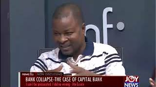 BANKING CRISIS: Some officials of collapsed banks to face the court -  Joseph Kpemka