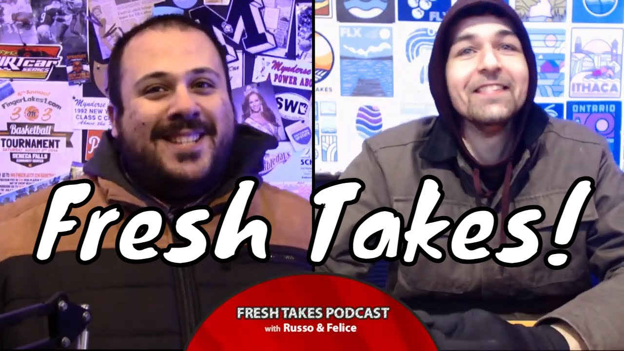 FRESH TAKES w/ RUSSO & FELICE: March is here and the madness is back (podcast)