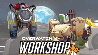 Making a jet pack in Overwatch Workshop