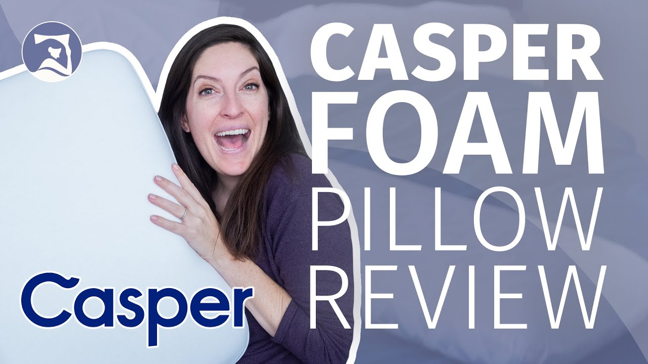 casper foam pillow review fantastically firm foam