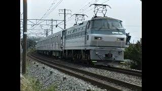 甲種輸送大阪市交通局21系 EF66牽引 想い出の鉄道シーン393