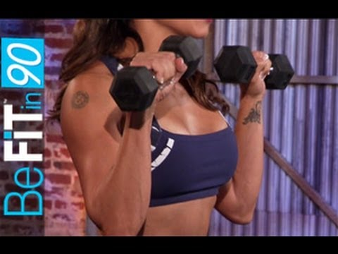 Six Pack Abs & Arms Workout by BeFit in 90