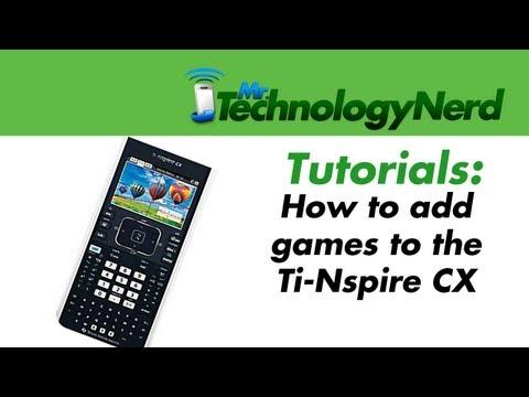 TI-Nspire CX Handheld Operating System